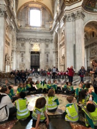 Year 1 Trip to St Paul's